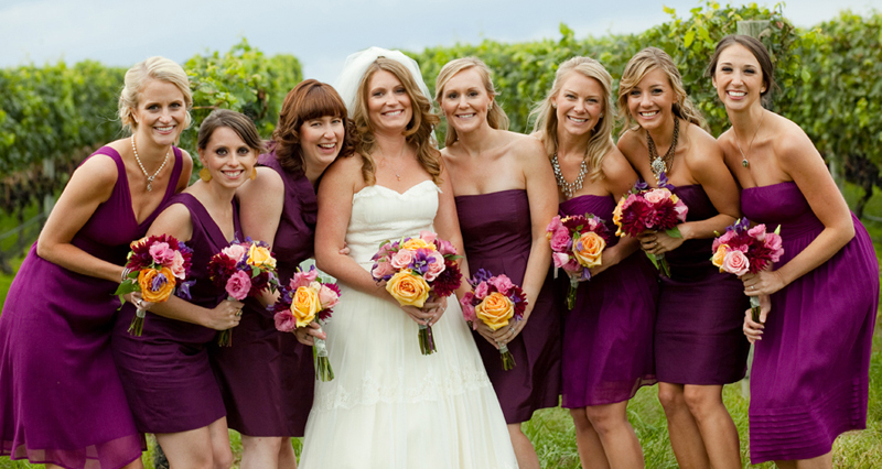 Pellegrini Vineyards Wedding